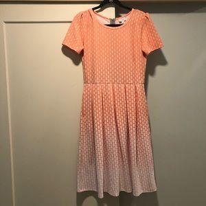 LuLaRoe Amelia Dress size Large ~> 14-16